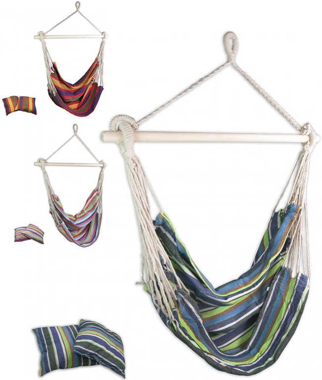 SEDCO Křeslo houpací závěsné Swing set s polštářky - 3 barvy