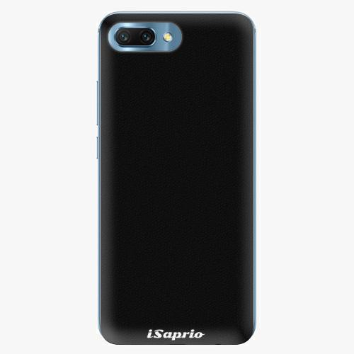 Silikonové pouzdro iSaprio - 4Pure - černý - Huawei Honor 10