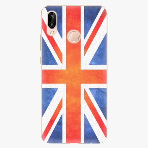 Plastový kryt iSaprio - UK Flag - Huawei P20 Lite