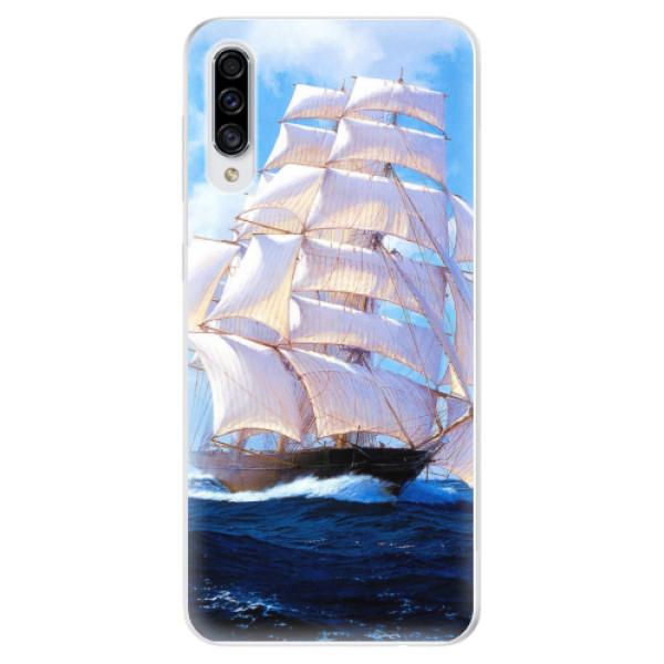 Odolné silikonové pouzdro iSaprio - Sailing Boat - Samsung Galaxy A30s