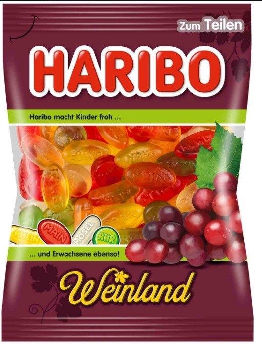 Haribo Weinland Jelly 200g