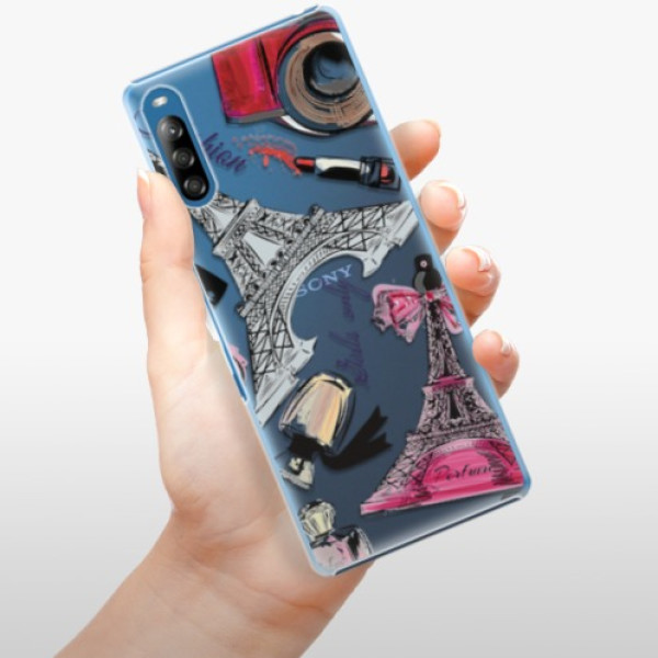 Plastové pouzdro iSaprio - Fashion pattern 02 - Sony Xperia L4