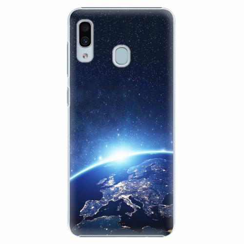 Plastový kryt iSaprio - Earth at Night - Samsung Galaxy A30