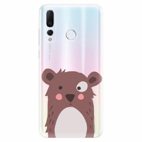 Silikonové pouzdro iSaprio - Brown Bear - Huawei Nova 4