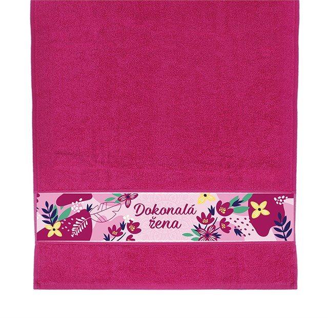 Dárkové ručníky - Ručník - Dokonalá žena