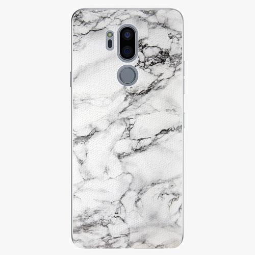 Plastový kryt iSaprio - White Marble 01 - LG G7