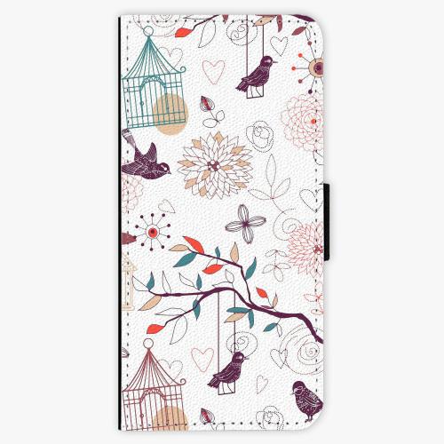 Flipové pouzdro iSaprio - Birds - Samsung Galaxy S8 Plus