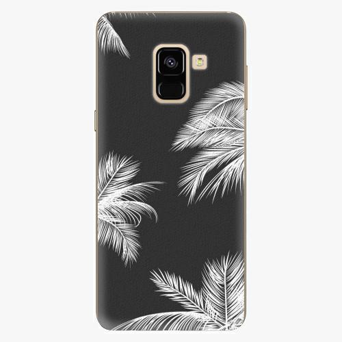 Plastový kryt iSaprio - White Palm - Samsung Galaxy A8 2018