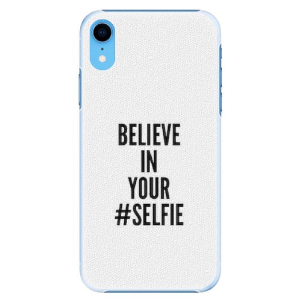 Plastové pouzdro iSaprio - Selfie - iPhone XR