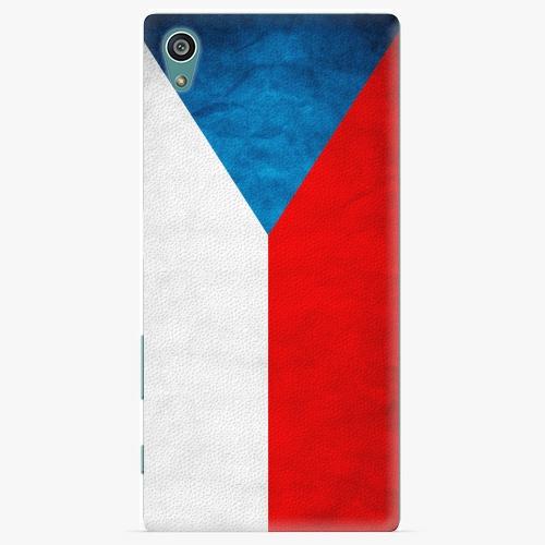 Plastový kryt iSaprio - Czech Flag - Sony Xperia Z5