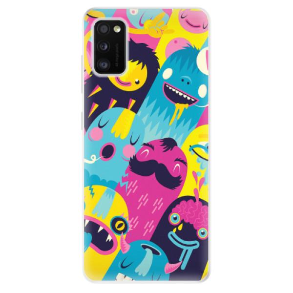 Odolné silikonové pouzdro iSaprio - Monsters - Samsung Galaxy A41