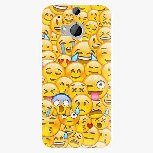 Plastový kryt iSaprio - Emoji - HTC One M8