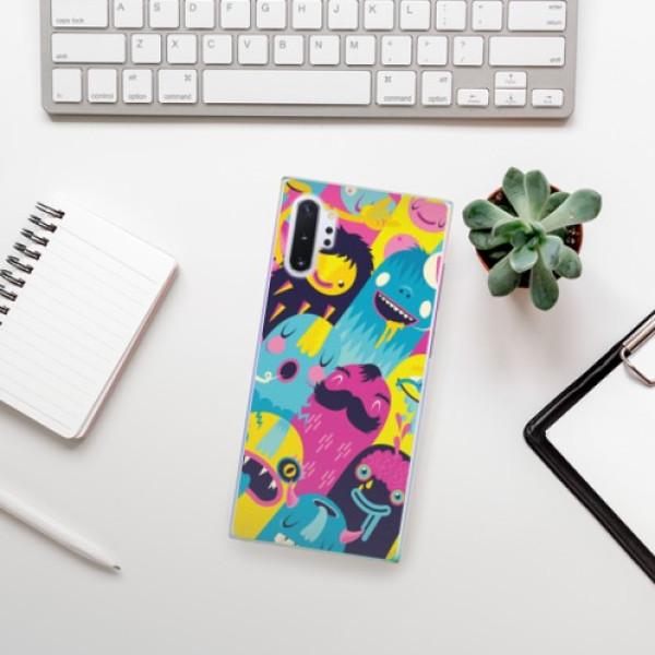 Plastové pouzdro iSaprio - Monsters - Samsung Galaxy Note 10+