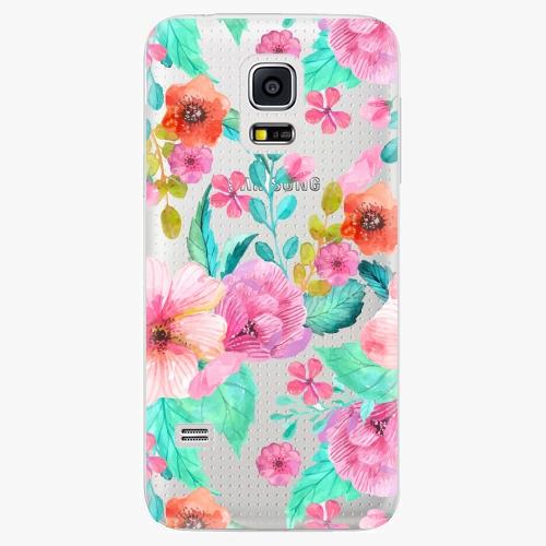 Plastový kryt iSaprio - Flower Pattern 01 - Samsung Galaxy S5 Mini