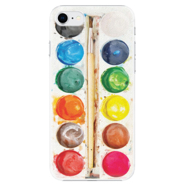 Plastové pouzdro iSaprio - Watercolors - iPhone SE 2020