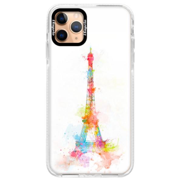 Silikonové pouzdro Bumper iSaprio - Eiffel Tower - iPhone 11 Pro Max