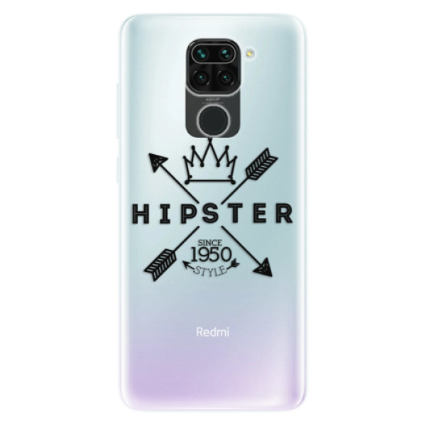 Odolné silikonové pouzdro iSaprio - Hipster Style 02 - Xiaomi Redmi Note 9