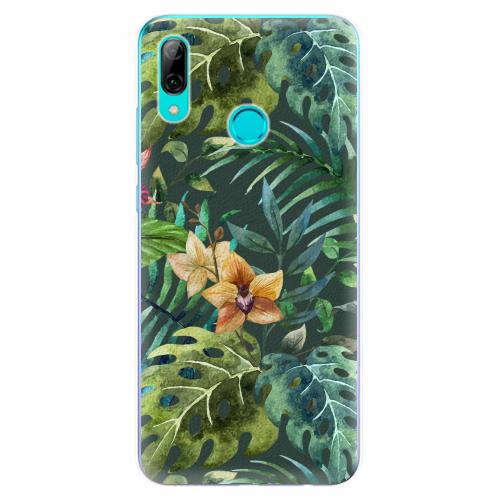 Silikonové pouzdro iSaprio - Tropical Green 02 - Huawei P Smart 2019