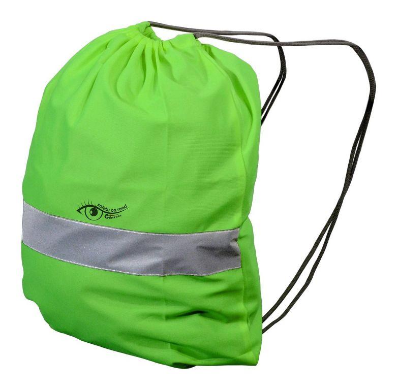 Batoh reflexní S.O.R. - zelený