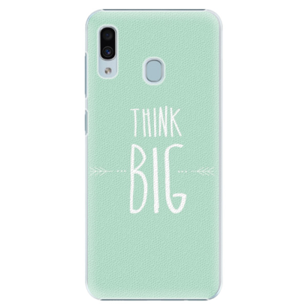 Plastové pouzdro iSaprio - Think Big - Samsung Galaxy A30