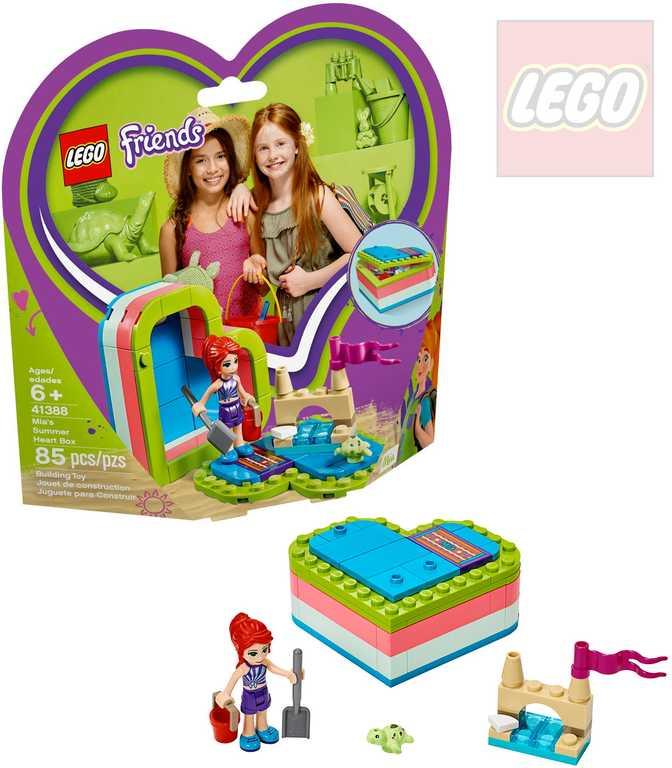 LEGO FRIENDS Mia a letní srdcová krabička 41388 STAVEBNICE