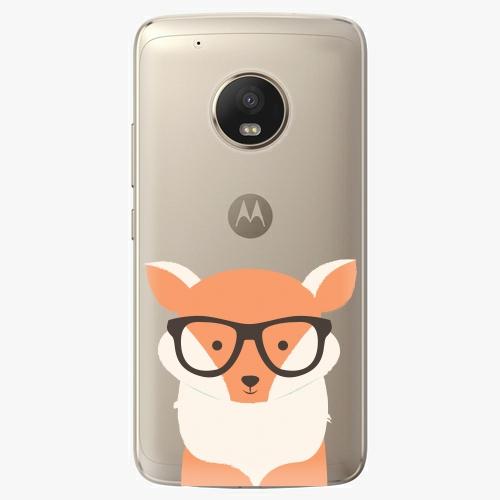 Plastový kryt iSaprio - Orange Fox - Lenovo Moto G5 Plus