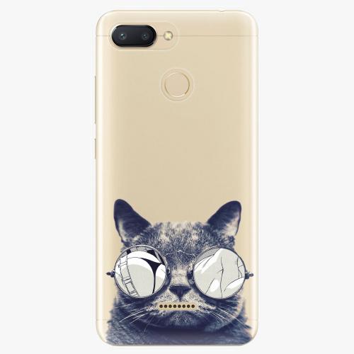 Silikonové pouzdro iSaprio - Crazy Cat 01 - Xiaomi Redmi 6