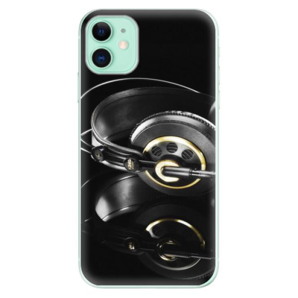 Odolné silikonové pouzdro iSaprio - Headphones 02 - iPhone 11