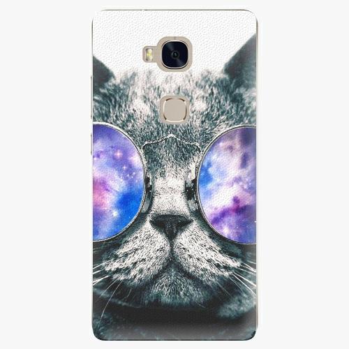 Plastový kryt iSaprio - Galaxy Cat - Huawei Honor 5X