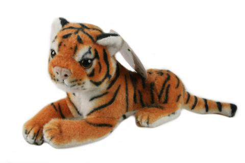 Plyš Tygr hnědý malý