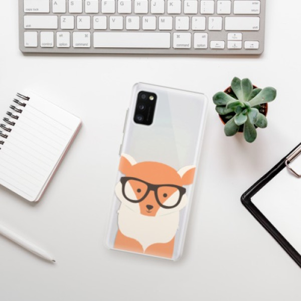 Plastové pouzdro iSaprio - Orange Fox - Samsung Galaxy A41