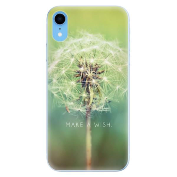 Odolné silikonové pouzdro iSaprio - Wish - iPhone XR