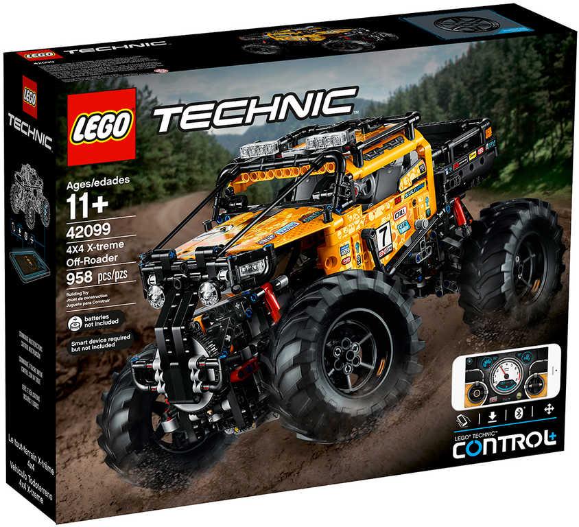 LEGO TECHNIC RC Auto extrémní teréňák 4x4 na vysílačku 42099 STAVEBNICE