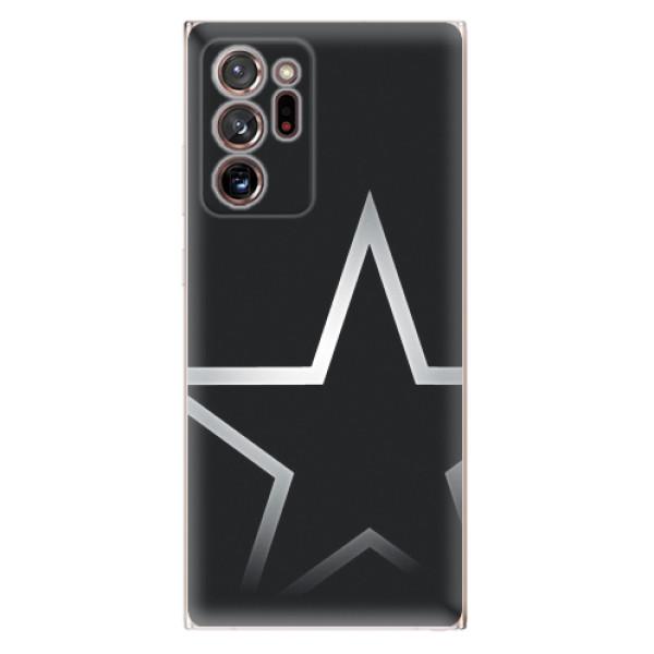 Odolné silikonové pouzdro iSaprio - Star - Samsung Galaxy Note 20 Ultra