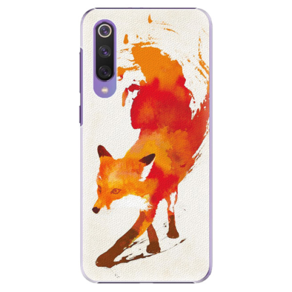 Plastové pouzdro iSaprio - Fast Fox - Xiaomi Mi 9 SE