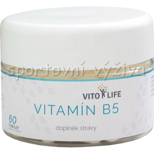 Vitamín B5 60 kapslí