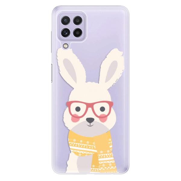 Odolné silikonové pouzdro iSaprio - Smart Rabbit - Samsung Galaxy A22