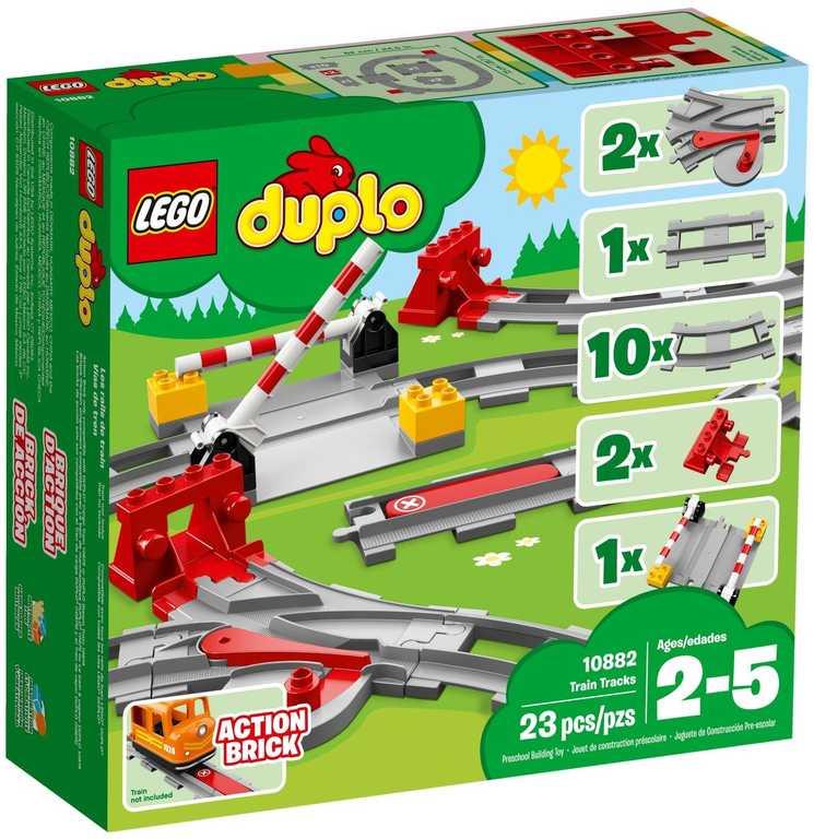 LEGO DUPLO Koleje 10882 STAVEBNICE
