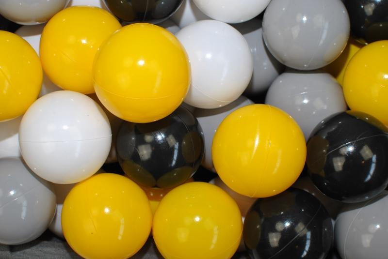 Náhradní balónky do bazénu - 200 ks, mix VI