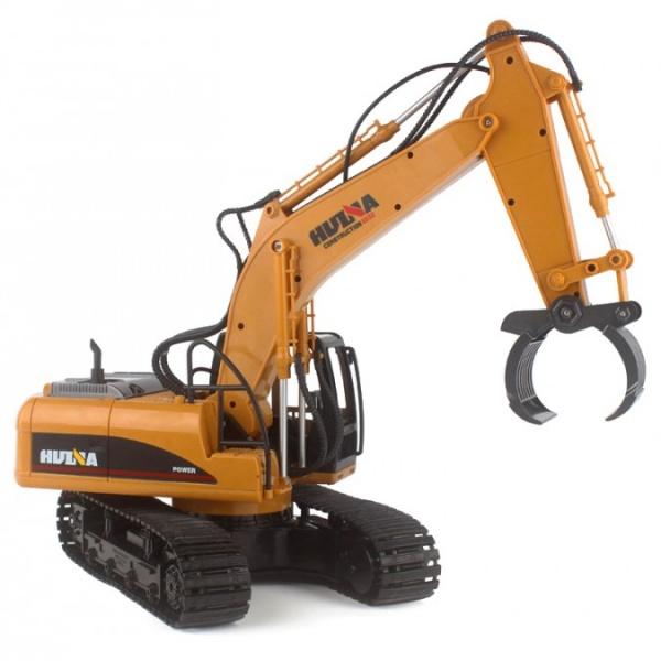 Stavební stroj HN570 s kovovým drapákem 1:14
