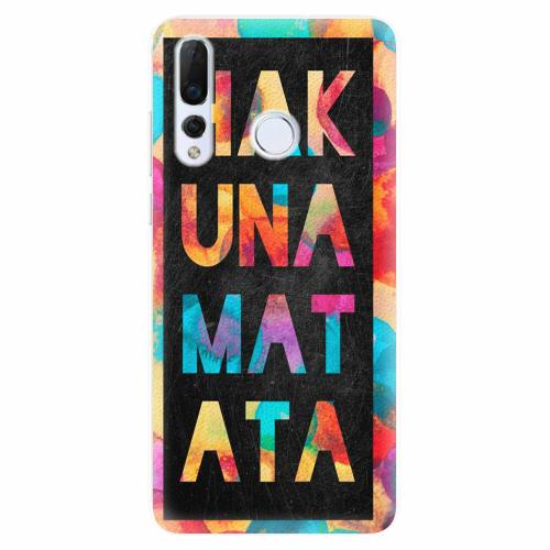 Silikonové pouzdro iSaprio - Hakuna Matata 01 - Huawei Nova 4