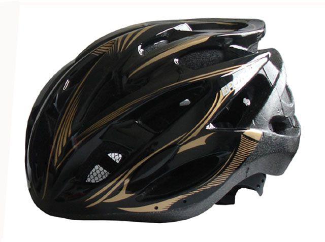 Černá cyklistická helma velikost XL(60/62cm)