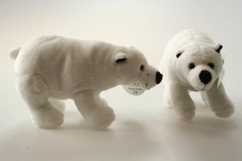 Plyš Polární medvěd