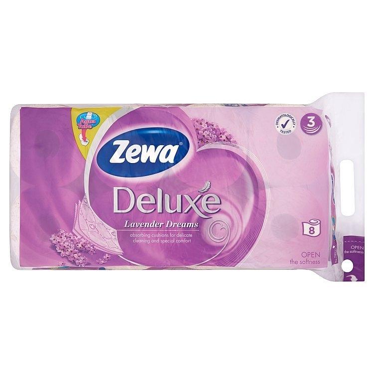 Deluxe Levandule toaletní papír, parfémovaný, 3vrstvý 8x150