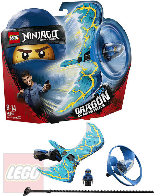 LEGO NINJAGO Dračí mistr Jay 70646 STAVEBNICE