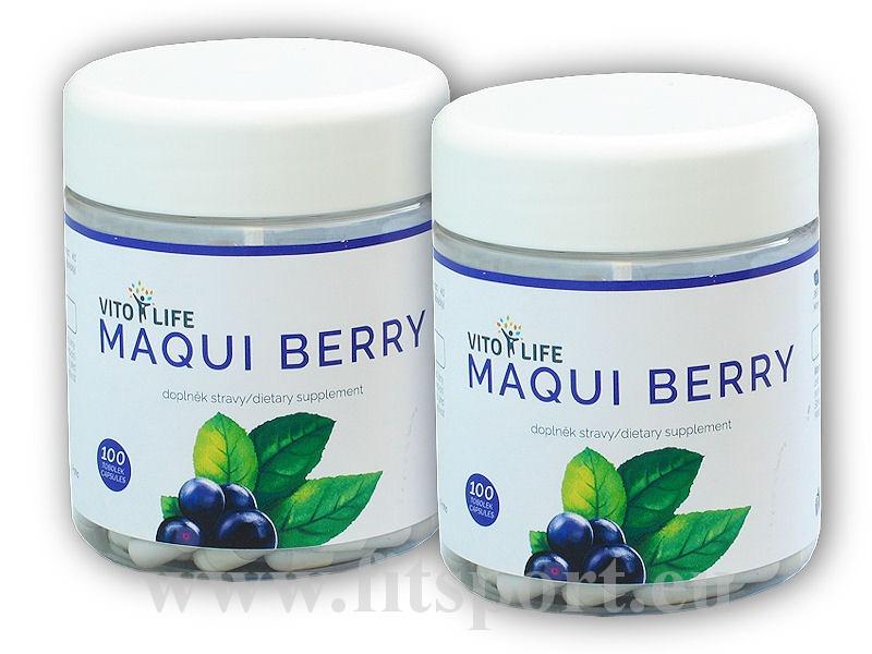 2x Maqui Berry 100 kapslí