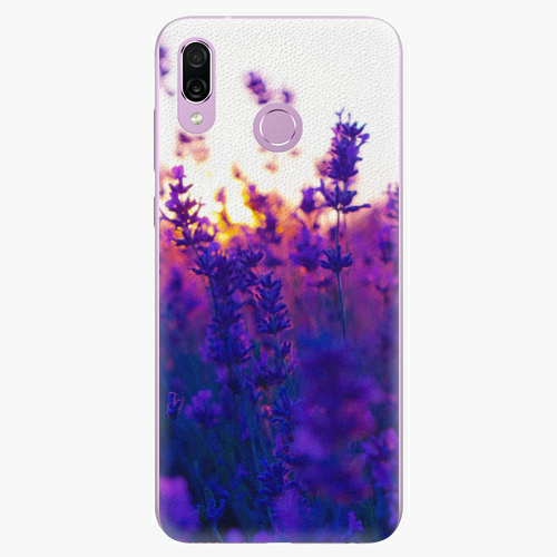 Silikonové pouzdro iSaprio - Lavender Field - Huawei Honor Play