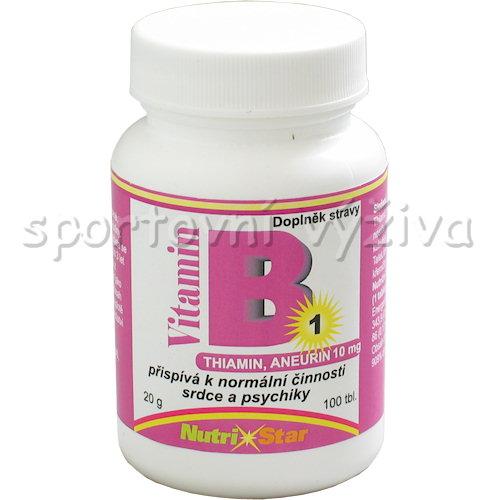 Thiamin vitamín B 1 10mg 100 tbl