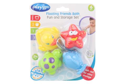 Playgro - Vodní zvířátka se síťkou 4ks