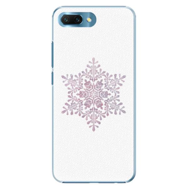 Plastové pouzdro iSaprio - Snow Flake - Huawei Honor 10